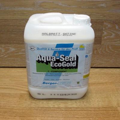 Однокомпонентный акрилово-полиуретановый лак на водной основе «Berger Aqua-Seal EcoGold» (Германия)
