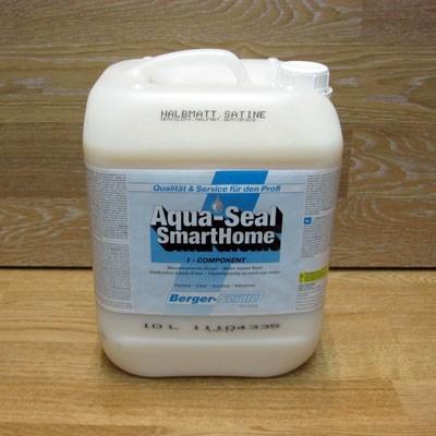 Однокомпонентный лак на водной основе «Berger Aqua-Seal SmartHome» (Германия)