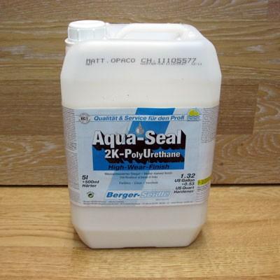 Двухкомпонентный полиуретановый лак на водной основе «Berger Aqua-Seal 2KPU» (Германия)