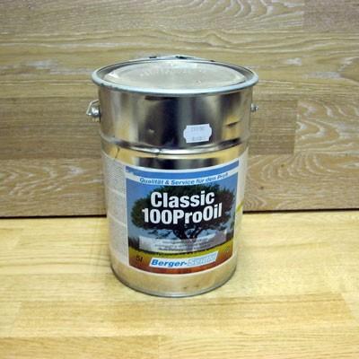 Масло с воском глубокого проникновения «Berger Classic 100Pro Oil» (Германия)