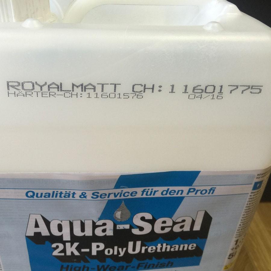2-х компонентный полиуретановый лак, сохраняющий естественный тон древесины «Berger Aqua-Seal 2KPU RoyalMatt»