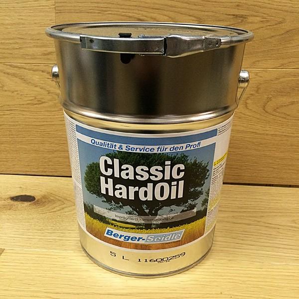 Масло с твердым воском «Berger Classic Hard Oil» (Германия)